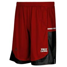 Louisiana Ragin' Cajuns Adidas NCAA Mens Red Climalite  Basketball Shorts