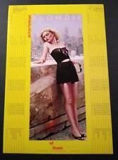 "Blondie_Original 1981 Chrysalis Records Promo Calendar_Autoamerican, 9"" X 13.5"""