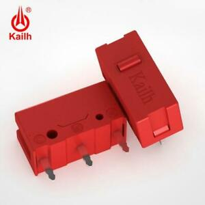 2 PACK Kailh GM Red Micro Switch for Gaming Mouse Button - 60 Million Clicks