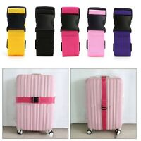 Adjustable Luggage Suitcase Bag Straps Travel Buckle Baggage Tie Down Belt Lock