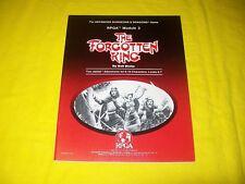 RPGA 3 THE FORGOTTEN KING DUNGEONS & DRAGONS AD&D - 1 VERY RARE HIGH GRADE