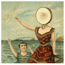 Neutral Milk Hotel - In The Aeroplane Over.. - Mini Poster with Black Card Frame
