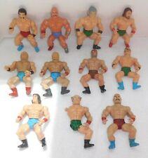 """Vintage 1980's Lot of 12 WRESTLING CHAMPION KO 5"""" Figures REMCO/SOMA/LANARD"""