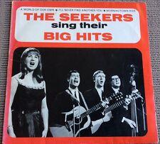 THE SEEKERS SING THEIR BIG HITS - VINYL LP, AUSTRALIA - (YELLOW LABEL)
