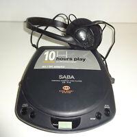 Saba Compact Disc Player CD P10 Discman