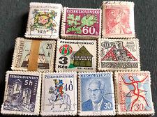 Tchécoslovaquie X 1000 timbres, 10 Faisceaux bundleware #H43