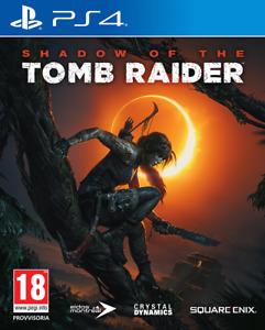 PS4 Schatten Of The Tomb Raider Video-Spiel Italienisch Spiel UK Spiel 4 Neu