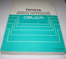 Werkstatthandbuch Toyota Celica AT 160 / ST 162 Stand August 1985!