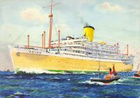 Queens of the Seas Art Postcard, ORION by Bernard Church (Large Format) 64H