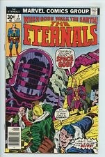 1977 MARVEL THE ETERNALS #7 1ST APP. JEMIAH & TEFRAL, KIRBY STORY & ART NM   S6