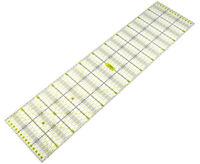 Transparentes Universal Patchwork Lineal Perfekt für Rollschneider in 15 x 60 cm