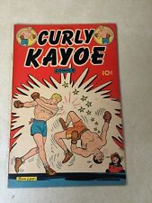 CURLY KAYOE #1 BOXING, 1946, TOUGH TO FIND, SPORTS, SAM LEFF!!