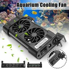 Adjustable Water Cooler Head Cooling Fans Cold Wind Chiller Aquarium Fish Tank
