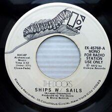 DOORS post Jim Morrison vg++ promo 45 SHIPS W /  SAILS 3:42 mono b/w stereo ak29