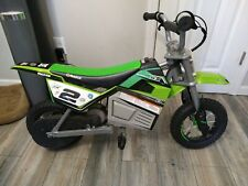 Razor 350 Jeremy McGrath Electric Motorcycle Motocross Bike Green