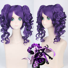The Red Queen purple Lolita Clip Ponytail Cosplay Anime party Wig heat resistant