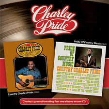 COUNTRY CHARLEY PRIDE + PRIDE OF COUNTRY MUSIC - Charlie Pride - New Reissue CD