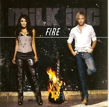 MILK INC. - fire CD SINGLE 2TR Eurodance 2011 CARDSLEEVE Trance