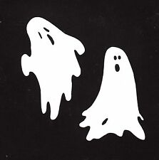 "Ghost Die Cuts, 4"" Tall - 6 ea. Halloween Die Cuts - Scrapbooking Die Cuts"