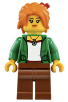 Lego New Misako Koko Fig from Set 70620 Ninja Ninjago Movie Minifigure Figure