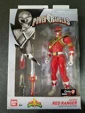 Bandai MMPR Red Ranger Dragonshield Power Rangers Legacy action figure