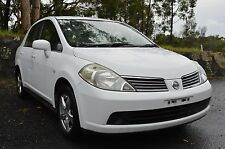 WRECKING - 2009 NISSAN TIIDA ST SEDAN 1.8L 4 SPEED AUTO TIDA 04-12 - 103,900 KMS