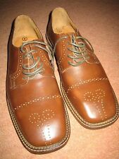 """Mutts Nuts"" Smart Brown Leather Lace Up Men's Shoes UK 8 EU 42 Brand New"