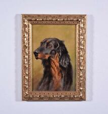 *Antique Oil on Canvas Painting/Portrait of a Setter Dog Hunting Dog
