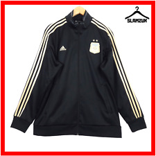 Argentina Football Training Jacket Adidas XL Soccer Anthem Track Top Gold AFA