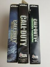 3-CALL OF DUTY PC BUNDLE-COD 1, COD UNITED OFFENSIVE & COD4 MODERN WARFARE