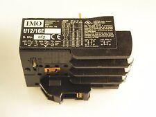 IMO U12/16E TERMALE sovraccarico Relè Monofase protezione 0.8-1.2a mbj1-07