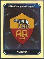 PANINI UEFA CHAMPIONS LEAGUE 2010-11- #294-ROMA TEAM BADGE-SILVER FOIL