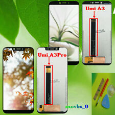 LCD Display Assembly Vetro Touch Screen Digitizer Per UMI Umidigi A3 / A3 Pro