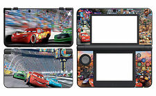 Cars 327 Vinyl Decal Skin Sticker Cover for Nintendo New 3DS 2015
