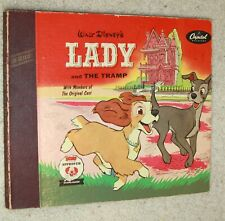 Walt Disneys Lady and the Tramp book records 1954 disney