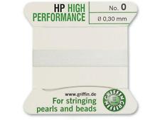 HP ad alte prestazioni filo di seta bianco INCORDATRICE 0.3mm Griffin Taglia 0-FT799
