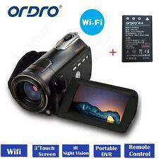 ORDRO D395 Wifi Digital Video Camera Night Vision Full HD 1080P WiFi Sony IMX179