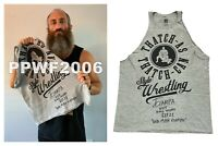 WWE TOMMASO CIAMPA RING WORN HAND SIGNED NXT T-SHIRT WITH PROOF AND COA