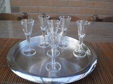 SET OF 6 LIQUOR / PORT /  SHERRY GLASSES