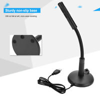 Mini USB Microphone Mic For Computer Microphones For PC Laptop Microfone Black