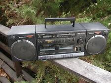 Xbs Boom Box Am/Fm Cassette Rx-Ct900 Panasonic 120Vac-12Vdc-Batt. Prepper