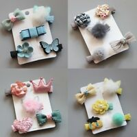 Fashion Cute Hairpin Baby Girl Hair Clip Bow Flower Mini Barrettes Star Kids Hot