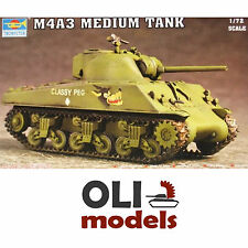 1/72 M4A3 SHERMAN Medium Tank - Trumpeter 07224