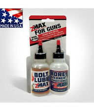 zMAX BoltLube & Bore Cleaner / Conditioner - 2pk. Complete Gun Cleaning System