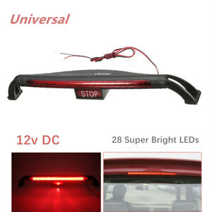 Universal Brake Lamp Car Safety Signal Lamp Rear Tail Light High-Mount w/28 LEDs