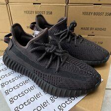 adidas Yeezy Boost 350 V2 'Triple Black' FU9006 Non Reflective UK 4 5 6 7 8 9 10