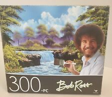 Mountain Hide-Away by Bob Ross 300 piece Cardinal Jigsaw Puzzle New