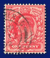 1902 SG220 1d Deep Bright Scarlet M5(3) Good Used  aseq
