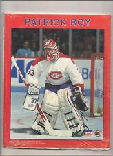 """1991 starline hockey 8"""" x !0"""" Patrick Roy  thick poster paper."""
