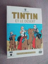 Coffret 3 DVD 4 aventures de Tintin et le désert + livret collector